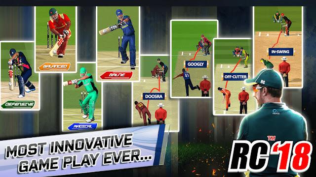 Real Cricket 19 New Batting & Bowling