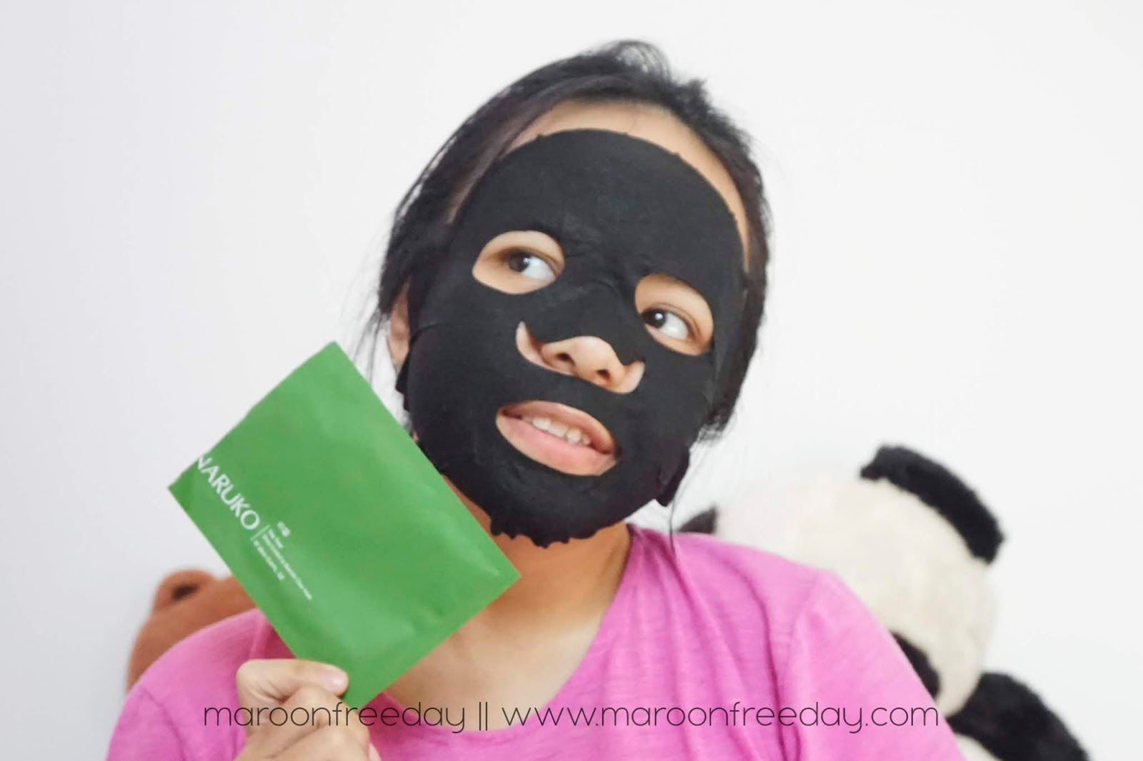 Review Naruko Blemish Clear Mask