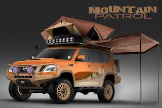 Nissan Armada Mountain Patrol (2018 Rendering) Front Side