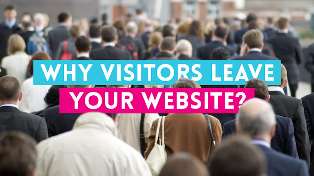 Why Do People Leave Websites?
