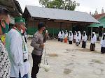 Kanit Binmas polsek Manyak Payed Polres Langsa Himbau Protokol Kesehatan  Di Pondok Pasantren Dayah Sudi