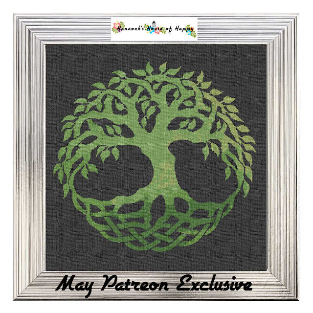 celtic tree of life cross stitch pattern