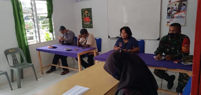 Rapat Musyawarah Desa Khusus Bidang BKAD Turut Serta Dihadiri Personel jajaran Kodim 0207/Simalungun