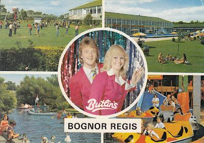 Butlin's Bognor Regis. John Hinde Ltd. Posted on 3 Aug 1981