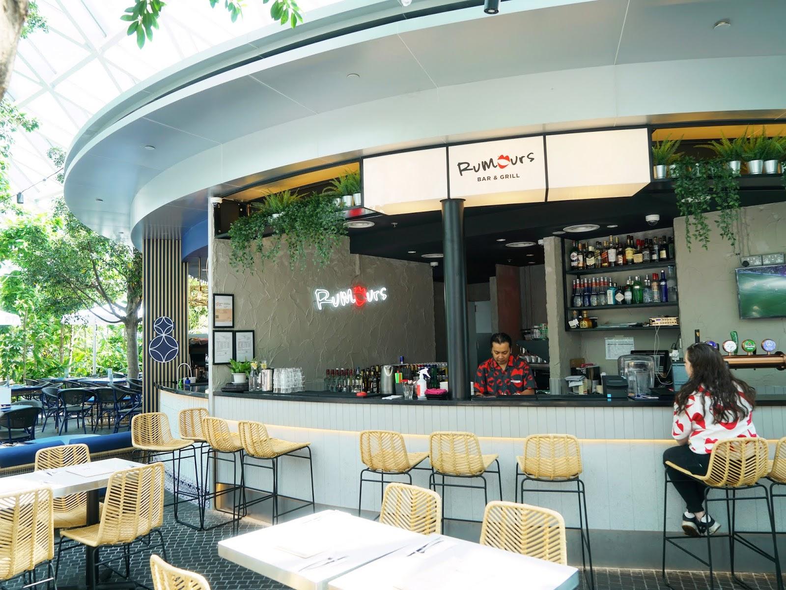 Rumors Bar And Grill >> Pinkypiggu Rumours Bar Grill Jewel Changi Airport