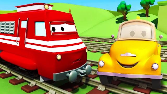 Kumpulan Video Kereta Api yang Lucu, Cocok Untuk Anak-anak