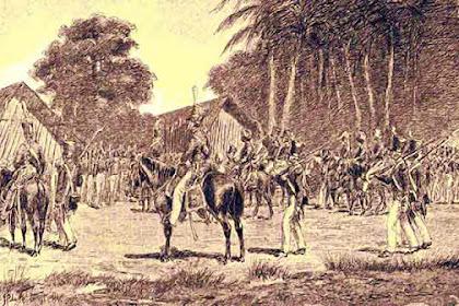 Pangeran Diponegoro, Pembagian Tugas Perlawanan Melawan Kolonial Belanda