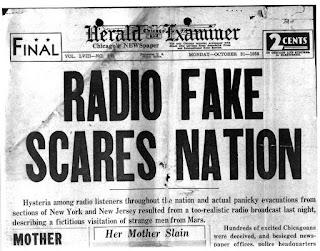 La guerra de los mundos en los titulares de prensa