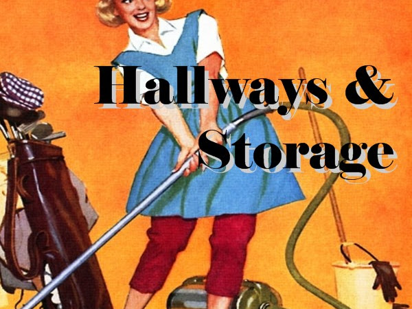 Spring Cleaning Checklist: Hall & Storage (with free printable)