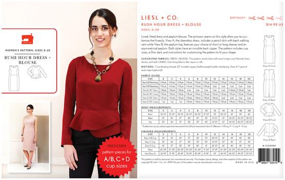Creates Sew Slow: Liesl + Co Rush Hour Lagos Laurel Blouse