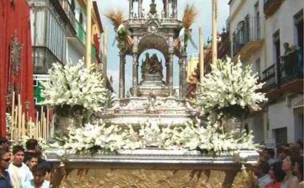 Suspendida la procesión del Corpus Chico de Triana