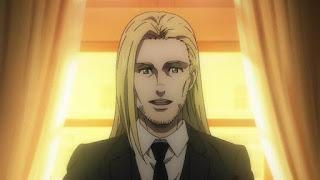 Hellominju.com: 進撃の巨人アニメ第4期 | ヴィリー・タイバー | Willy Tybur | Attack on Titan | Hello Anime !