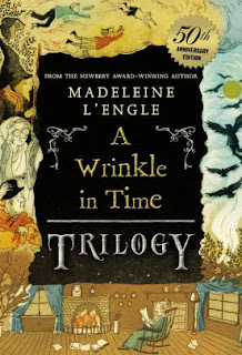 A Wrinkle in Time trilogy by Madeleine L'Engle