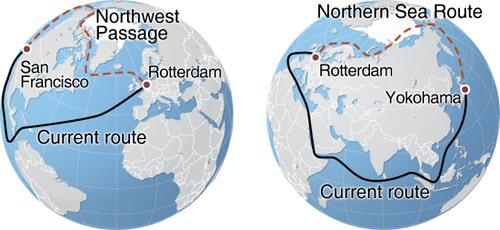الممر الشمالي البحري القصة الكاملة
