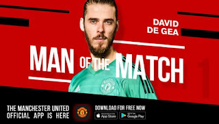 De Gea Man of the Match Watford vs Manchester United