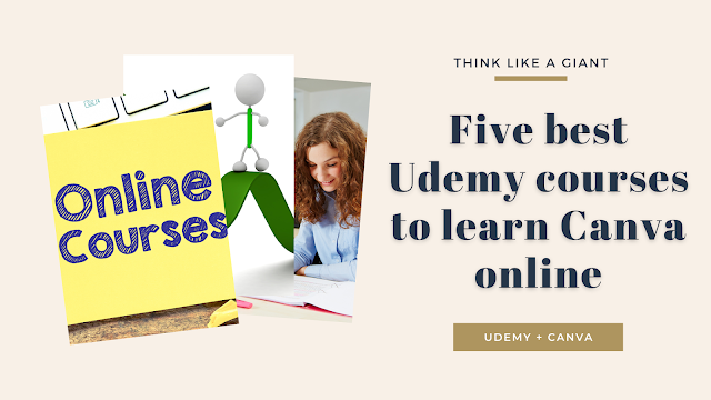 Five best Udemy courses to learn Canva online
