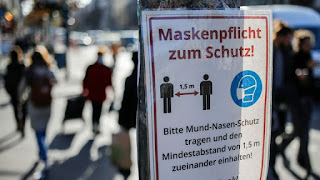 Germany alarmed by threat posed by coronavirus deniers