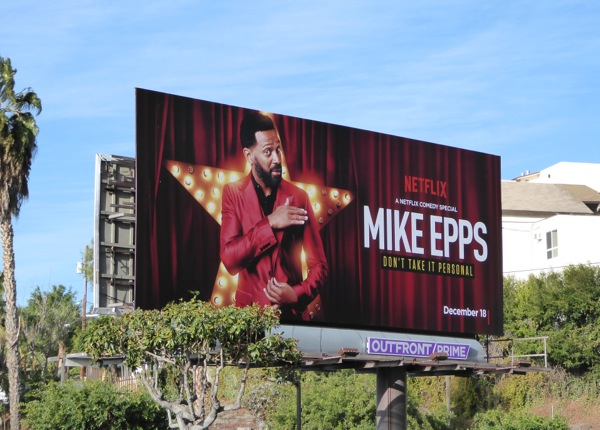 Mike Peeps Don't take it personal billboard