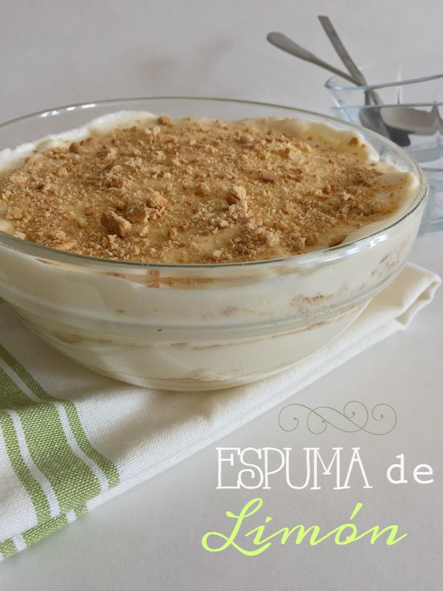 Mousse de Limón, suave y refrescante. http://bizcochosysancochos.blogspot.com/