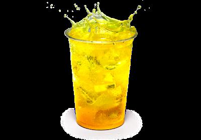 Напиток «Мандарин» в КФС, Напиток «Мандарин» в KFC, Напиток «Мандарин» состав цена стоимость пищевая ценность объем размер