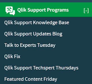 Die neue Qlik Support Section auf der Qlik Community