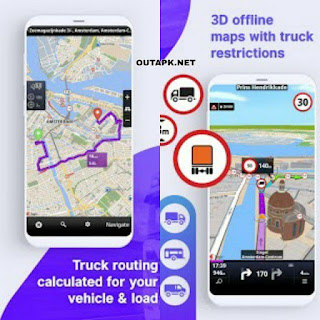 Sygic Truck GPS Navigation & Maps v20.3.0 build 2182 Final [Unlocked] Apk