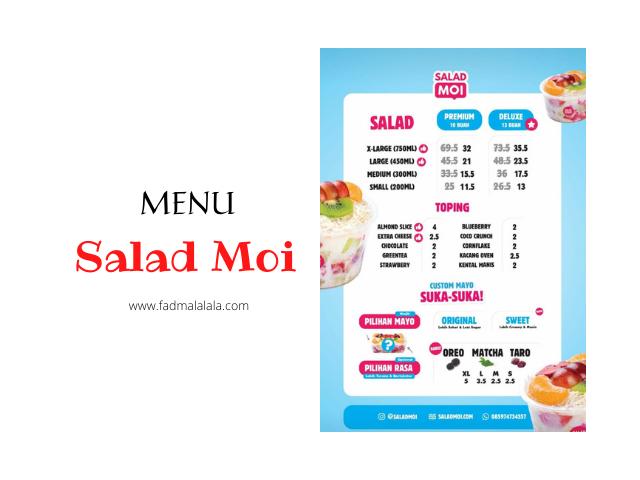 menu salad moi
