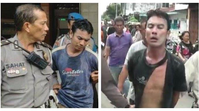 Begini Nasib Preman Pasar Usai Pukul Kepala Prajurit TNI Dan Minta Ditembak Polisi
