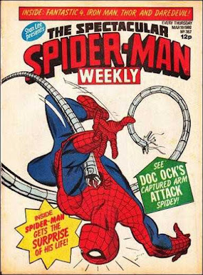 Spectacular Spider-Man Weekly #367, Dr Octopus
