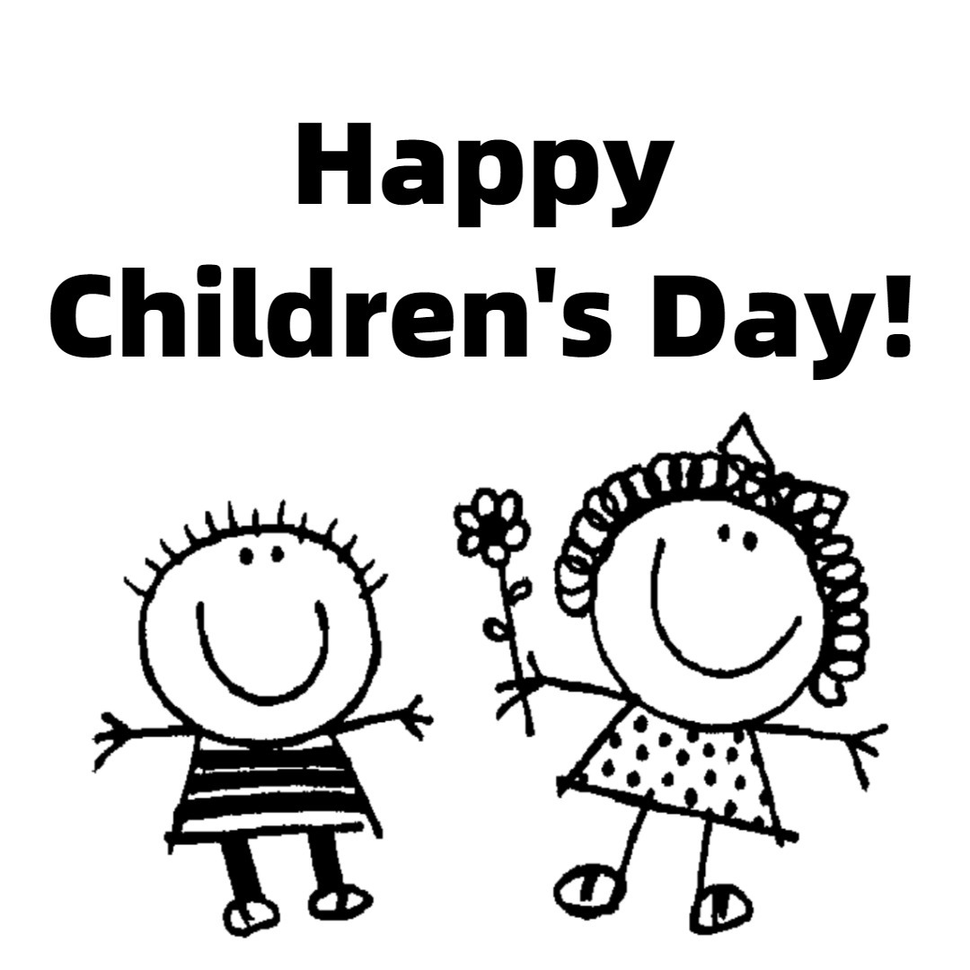 Children's Day Drawing