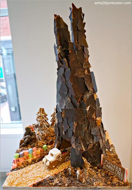"""Casitas de Jengibre en Boston: """"The Pioneer Cabin Tree"""""""