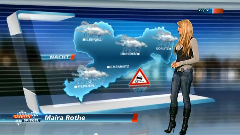 Maira rothe weather girl 5