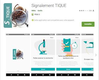 https://play.google.com/store/apps/details?id=com.inra.VigiTic&hl=fr