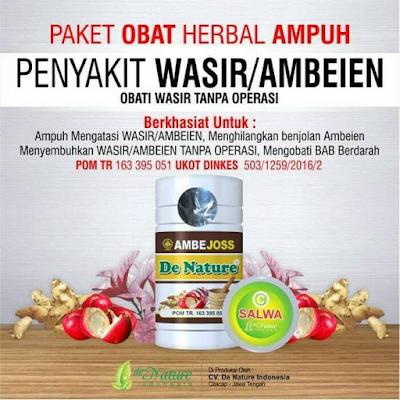 Foto Kapsul obat tradisional ambeien stadium 4 terdaftar bpom