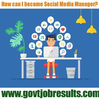 How can I become social media manager in India?