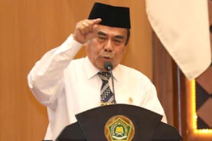 Katanya jadi Menteri Agama untuk Semua Agama, Faktanya Sibuk Nyinyir ke Umat Islam