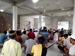 সিরাজগঞ্জ রতনকান্দিতে মোহাম্মাদ নাসিমের রোগমুক্তি কামনায় দোয়া ও কোরান খতম