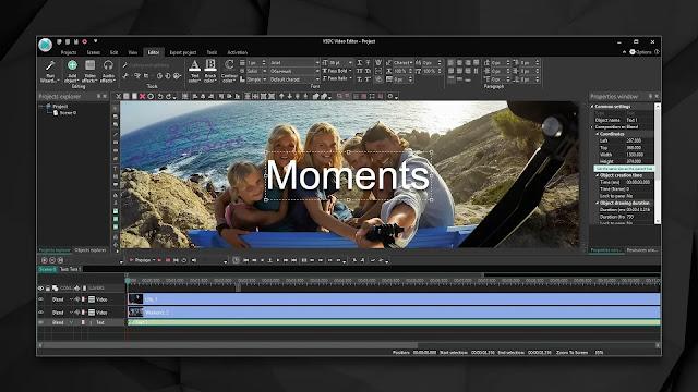 VSDC Free Video Editor أفضل برامج مونتاج كمبيوتر
