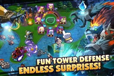 Screenshot: Magic Rush: Heroes APK