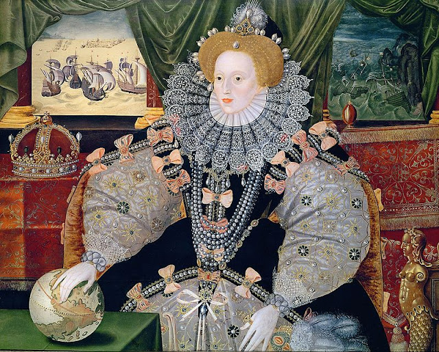 Queen Elizabeth I Armada Portrait 1588