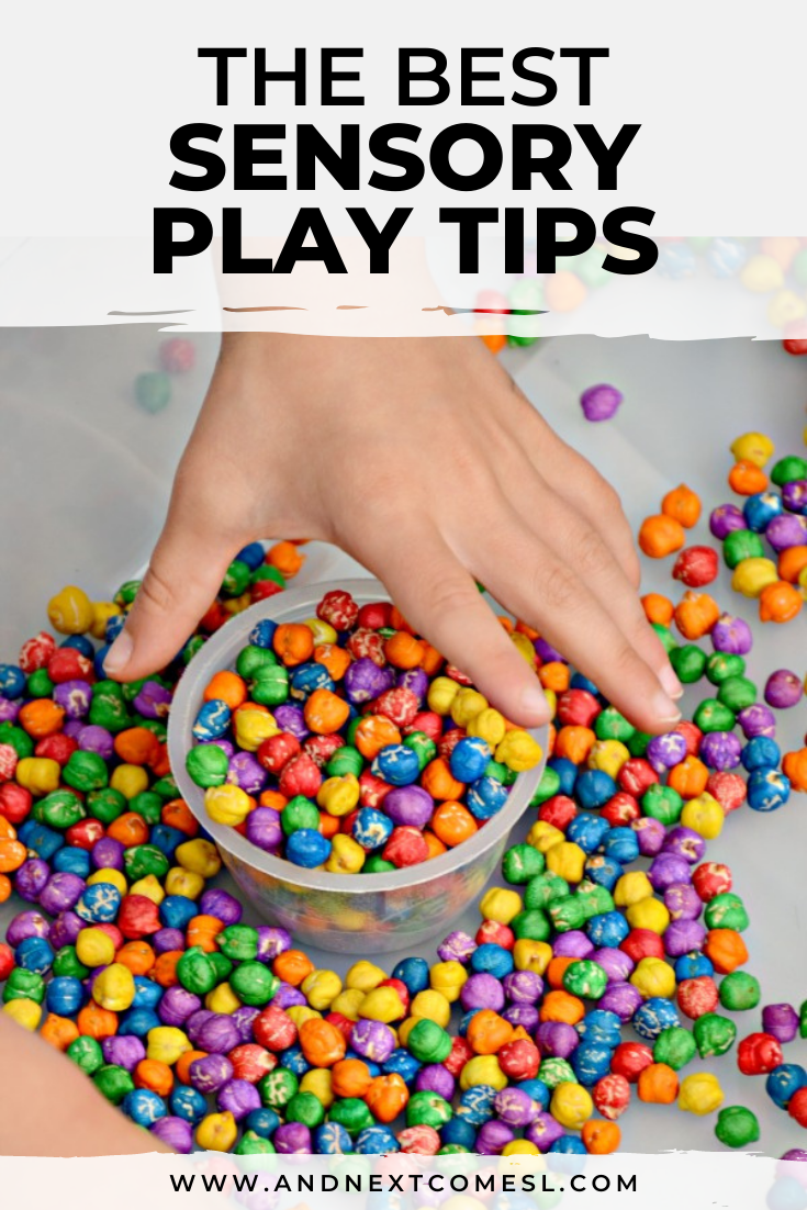 Sensory play tips: How to make the most out of sensory bins and sensory play for toddlers and preschoolers