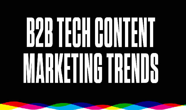 B2B Tech Content Marketing Trends #infographic