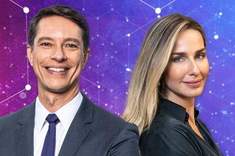 Mariana Weickert e Sérgio Aguiar – (Foto: Reprodução/Record TV).