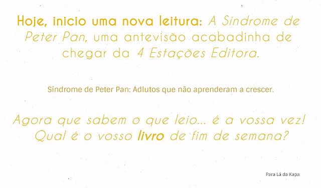 Livro A Síndrome de Peter Pan