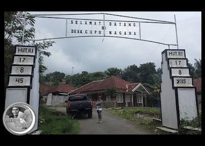 Desa Cupunagara kecamatan Cisalak.