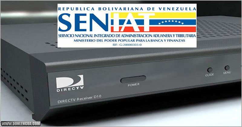 SENIAT está decomisando los equipos de DirecTV que están siendo enviados hacia Venezuela