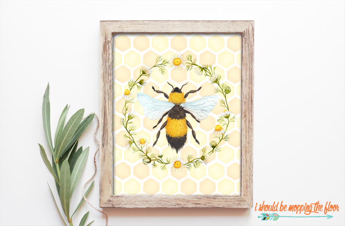 Bumble Bee Printable
