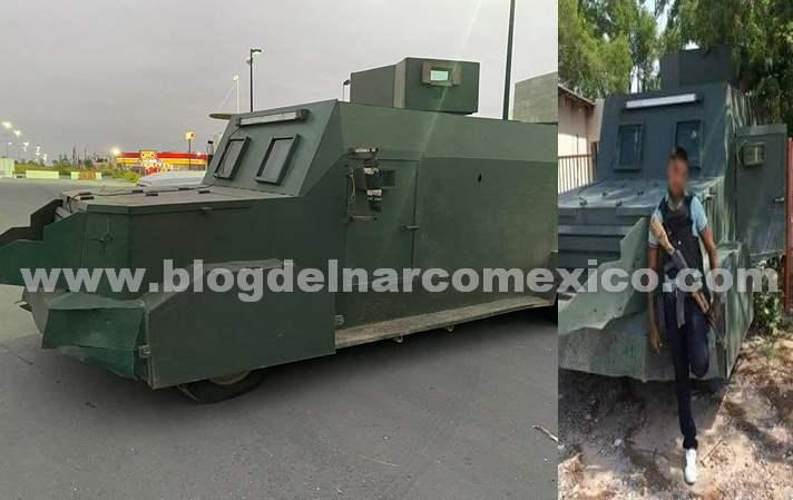 Fotos; Aseguran camiones monstruo en Tamaulipas, Sicarios asi se fotografiaban con uno de ellos