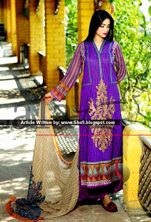 Embroidered Lawn Collection by Lala