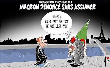 Macron dénnonce